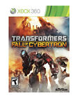 Transformers: Fall of Cybertron  (Xbox 360, 2012)
