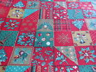 Vintage Kessler Christmas cotton fabric Concord 1