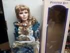 GOLDENVALE COLLECTION PORCELIN ALICE DOLL NIB