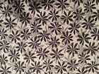 Crafts Sewing Fabric Red Rooster Nordic Visions (23646) Black Gray Flowers BTY