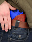 Barsony Burgundy Leather IWB Concealment Holster for SW 1911 40 45 9mm