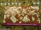 1995 Marshall Islands Victory in Europe $5.00 Coin with Display Card UNCIRCULATE