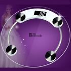 150KG Digital LCD Glass Bathroom Scale Body Weight Watchers High Precision