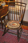Primitive Antique Early Windsor Rocking Chair - Great Primitive