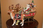 Cookie Jar and Lid with Deer Candlestick Figurine