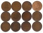 1909,10,11,12,13,14,15,16,17,18,19,20 Canada Large Cents-Nice Starter Set !!