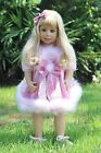 NWT Masterpiece Dolls Abigail Blonde With Blue Eyes By Monika Levenig