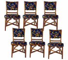 Mid Century Hollywood Regency Bamboo Garden Style Dining Chair