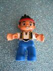 LEGO DUPLO NEVERLAND PIRATE JAKE REPLACEMENT FIGURE HTF