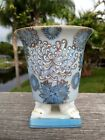 Small Hand Painted 4 Footed Vase/Planter - ANDREA BY SADEK