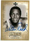 WILLIS REED 01 UD LEGENDARY SIGNATURES AUTO AUTOGRAPH KNICKS CARD!