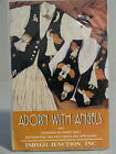 1995 Indygo Junction Pattern ADORN WITH ANGELS Appliqued Felt Vest S M L - Uncut