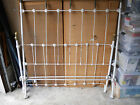 1920s Vintage Antique Solid Brass & Cast Iron Bed - Made in USA