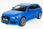 Free shipping 1:32 Audi RS 6 Alloy Diecast Car Model Toy Sound&Light Blue 2221