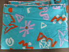 Copacabana Print Vintage 1987 Hoffman California Neon Print Fabric 4 yards