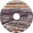 Illinois Central Railroad Employees Magazine {108 Issues ~ 1914 to 1923} on DVD