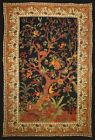 PERSIAN TREE OF LIFE BLACK AND GOLD ALL SIZES TAPESTRY THROW COVERLET BED!!