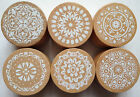 Wooden Lace Doily Rubber Stamps Cardmaking Scrapbooking DIY Wedding Beautiful