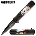 Couteau TAC-FORCE SPEEDSTER FAST Spring Assist SPEAR POINT BLADE Knife 4