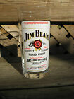 Jim Beam, Kentucky Straight Bourbon Whisky, Drinking Glass