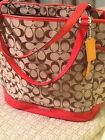 COACH Park North/South Signature Tote - NEVER USED