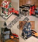 GET 100+ CUSTOM LEGO INSTRUCTIONS like many TRAIN STATIONS 4 fans of Lego 10210