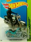 MOTORCYCLE,2013 HOTWHEELS,HARLEY-DAVIDSON FAT BOY,BEAUTIFUL HARLEY BIKE,VERY FUN