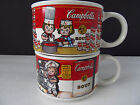 Campbells Soup Mug Cup Large Mouth By Westwood 1998 Vintage Collectable Pair Kid