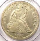 1850-O Seated Liberty Silver Dollar $1 - Certified PCGS Genuine - AU Details