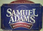 SAMUEL ADAMS metal sign Sam Adams Boston lager beer brewer patriot craft