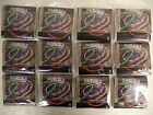12 Sets Bulk ORANGE Aurora Colored Acoustic Guitar Strings 13 56 Coated Steel