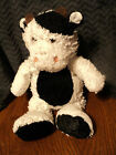 Animal Alley Cow Black White Plush 13