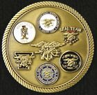SEAL Team XVII Command Challenge Coin  Trident  Rare!