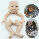 Soft Silicone Vinyl Reborn Baby Doll Parts Head Arms Legs Kits Suit for 20 22