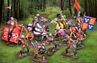 THE COLLECTORS SHOWCASE AGINCOURT MEDIEVAL KNIGHTS SET MIB
