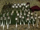 Community Plate Deluxe Silverware Service for 6+ 4 Serving pieces Grosvenor 1921