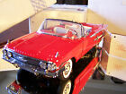 FRANKLIN MINT RED 1960 CHEVROLET IMPALA CONVERTIBLE  MINT IN BOX  WITH  PAPERS