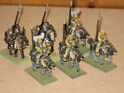 MEDIEVAL KNIGHT WARRIOR ON HORSE SET OF 6 FIGURINES SOLDIERS