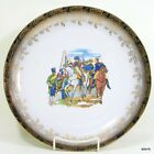 Napoleon Cabinet Plate 1807 Bataille de Friedland Schumann Arzberg Germany 1940s