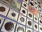 Ancient Estate Coin Collection Lot Roman-Medieval-Silver-Pirate-Proof-Asian-Set