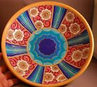GORGEOUS Longwy French Enameled Art Deco Footed Centerpiece Bowl! WOW!
