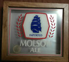 VINTAGE IMPORTED MOLSON ALE BANK/BAR SIGN