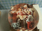 Norman Rockwell The Toy Maker collector plate and Box Knowles