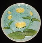GERMAN MAJOLICA Water Lily PLATE SCHRAMBERG ca.1920 Villeroy & Boch V&B antique