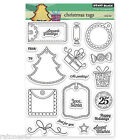 New Penny Black CHRISTMAS TAGS Clear Stamps Happy Holidays Gift Seasons Greeting