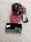 Women's Team Realtree APC Pink Camo Hat and Headband-NEW WITH BLING!!!!