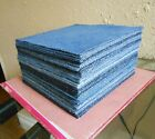 25 95 denim UPCYCLED BLUE JEAN squares RAG QUILT Fabric Block