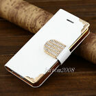 Bling Wallet Luxury PU Leather Magnetic Flip Hard Cover Case Pouch for iPhone 5C