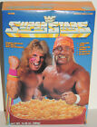 UNOPENED 1991 WWF WWE CEREAL BOX Ultimate WARRIOR & Hulk HOGAN Salesman Sample