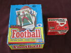 1989 TOPPS FOOTBALL WAX BOX 36 PACKS & 132 CARD TRADED SET